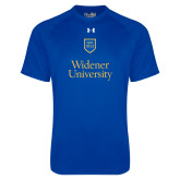 Under Armour Royal Tech Tee-Stacked University Mark