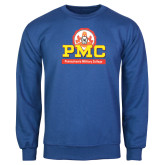 Royal Fleece Crew-PMC Stacked