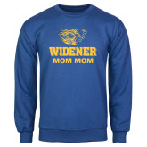 Royal Fleece Crew-Widener Pride Mom Mom