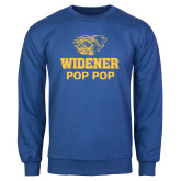 Royal Fleece Crew-Widener Pride Pop Pop