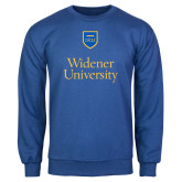 Royal Fleece Crew-Stacked University Mark