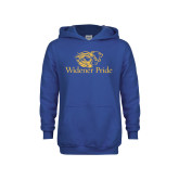Youth Royal Fleece Hoodie-Widener Pride