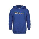 Youth Royal Fleece Hoodie-Widener