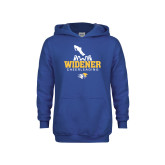 Youth Royal Fleece Hoodie-Cheerleading Design