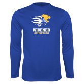 Performance Royal Longsleeve Shirt-Widener Athletics