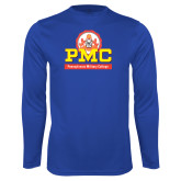 Syntrel Performance Royal Longsleeve Shirt-PMC Stacked