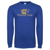 Royal Long Sleeve T Shirt-Widener Pride