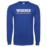Royal Long Sleeve T Shirt-Roller Hockey