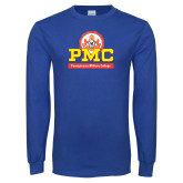 Royal Long Sleeve T Shirt-PMC Stacked