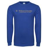 Royal Long Sleeve T Shirt-Commonwealth Law School