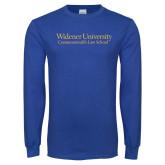 Royal Long Sleeve T Shirt-Commonwealth Law