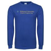 Royal Long Sleeve T Shirt-School of Engineering