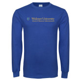 Royal Long Sleeve T Shirt-School of Business Administration