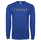 Royal Long Sleeve T Shirt-College of Arts and Sciences