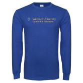 Royal Long Sleeve T Shirt-Center for Education