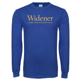 Royal Long Sleeve T Shirt-Graduate Studies and Extended Learning
