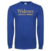 Royal Long Sleeve T Shirt-Social Work