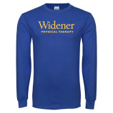 Royal Long Sleeve T Shirt-Physical Therapy