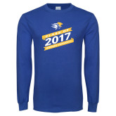 Royal Long Sleeve T Shirt-Class Of Design, Personalized year