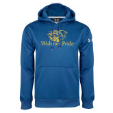 Under Armour Royal Performance Sweats Team Hoodie-Widener Pride