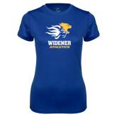 Ladies Syntrel Performance Royal Tee-Widener Athletics