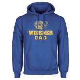Royal Fleece Hoodie-Widener Pride Dad