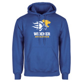 Royal Fleece Hoodie-Widener Athletics
