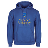 Royal Fleece Hoodie-Stacked University Mark
