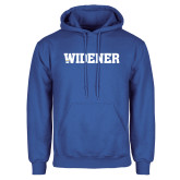 Royal Fleece Hoodie-Widener Wordmark