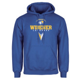 Royal Fleece Hoodie-Lacrosse Design
