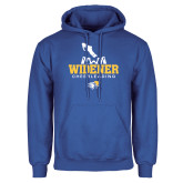 Royal Fleece Hoodie-Cheerleading Design