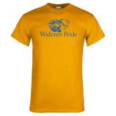 Gold T Shirt-Widener Pride