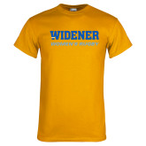 Gold T Shirt-Womens Rugby