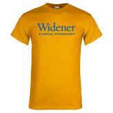 Gold T Shirt-Clinical Psychology