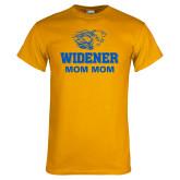 Gold T Shirt-Widener Pride Mom Mom