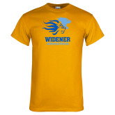 Gold T Shirt-Widener Athletics
