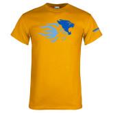Gold T Shirt-Widener Mascots Mark