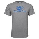 Grey T Shirt-Widener Pride