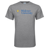 Grey T Shirt-Primary Mark with Shield