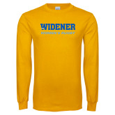 Gold Long Sleeve T Shirt-Womens Rugby