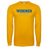 Gold Long Sleeve T Shirt-Kronum