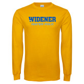 Gold Long Sleeve T Shirt-Water Polo