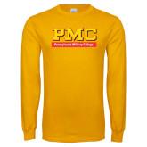 Gold Long Sleeve T Shirt-PMC