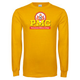 Gold Long Sleeve T Shirt-PMC Stacked