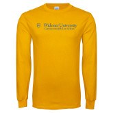 Gold Long Sleeve T Shirt-Commonwealth Law School