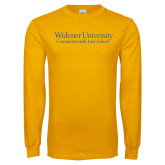 Gold Long Sleeve T Shirt-Commonwealth Law