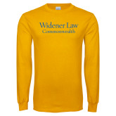 Gold Long Sleeve T Shirt-Commonwealth