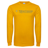Gold Long Sleeve T Shirt-College of Arts and Sciences