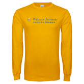 Gold Long Sleeve T Shirt-Center for Education