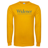 Gold Long Sleeve T Shirt-Graduate Studies and Extended Learning